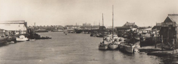 Hillyard Boat Building Establishment, c1960